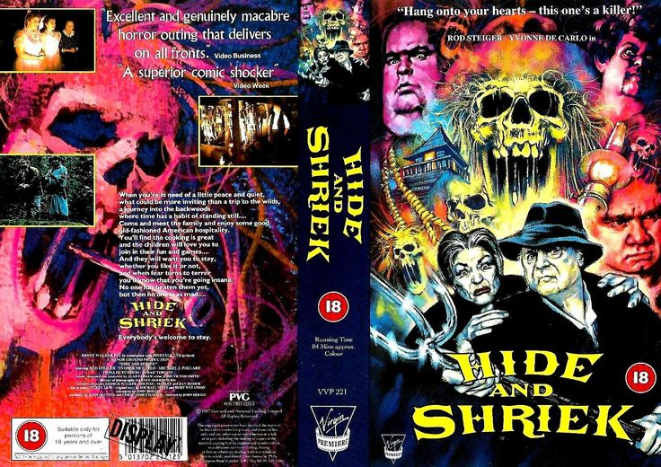 AMERICAN GOTHIC (aka HIDE and SHRIEK in an EU driven and pre Brexit era Britain, pre Brexit Briitsh and Canadian co production, starring Rod Steiger, 1925 - 2002), PAL VHS, Virgin (Premirere), BBFC rating is 18, sleeve is only for big boxer but this is only an image that was scanned  #Elokuvat #Ohjaus #FixGalleria #Näyttelijät #Käsikirjoitus #Hirviöt #Metal #KMFDM #RichardBranson #Skulls #80s #Vidmark #Pingas #Troma #YTP #MLG #Grexit #Arthouse #Swede #EU27 #Pamplona #Belgio #Ghent #CNR…