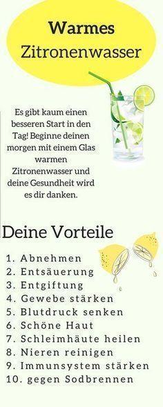 10 tolle Vorteile wenn du täglich morgens Zitronensaft trinkst. Zitronensaft ab …