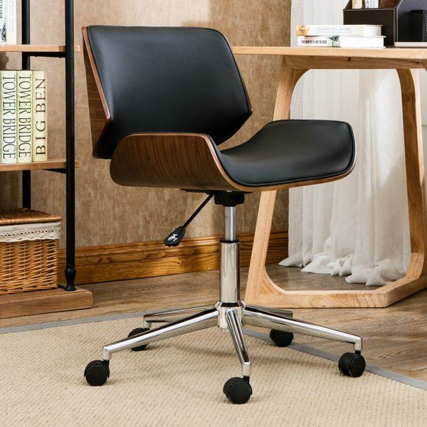 Cathina Task Chair Wicker Dining Chairs Most Comfortable Office