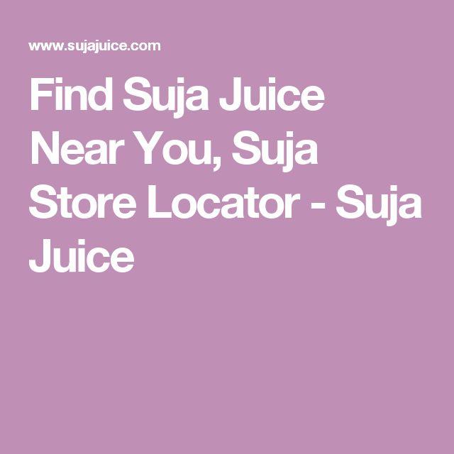 Find Suja Juice Near You, Suja Store Locator - Suja Juice