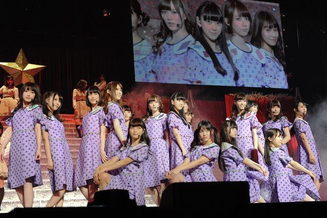「乃木坂46 Merry X'mas Show 2013」の様子。