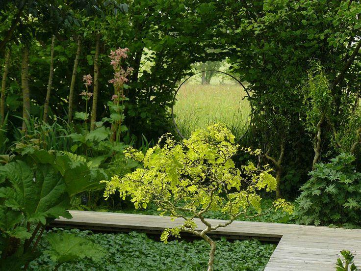 110 best garden circles images on pinterest yard design landscaping and modern gardens - Jardin contemporain athis de l orne nantes ...