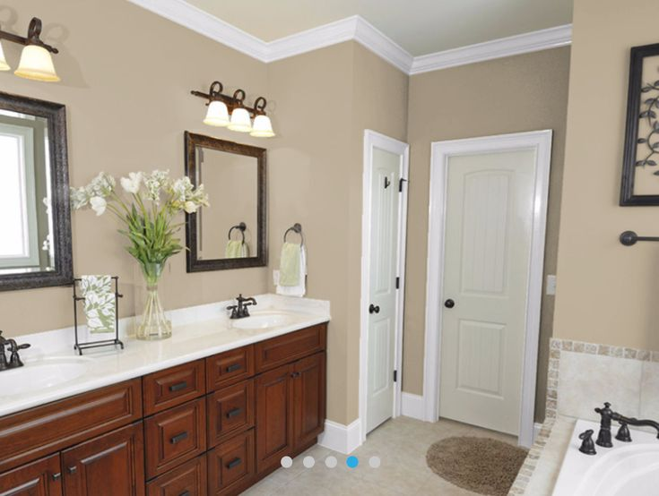 25 best ideas about bathroom wall colors on pinterest - Master bedroom and bathroom paint colors ...