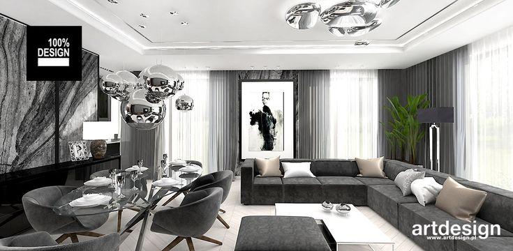 KEEP THE BALL ROLLING   Wnętrza apartamentu   salon w stylu nowoczesnym