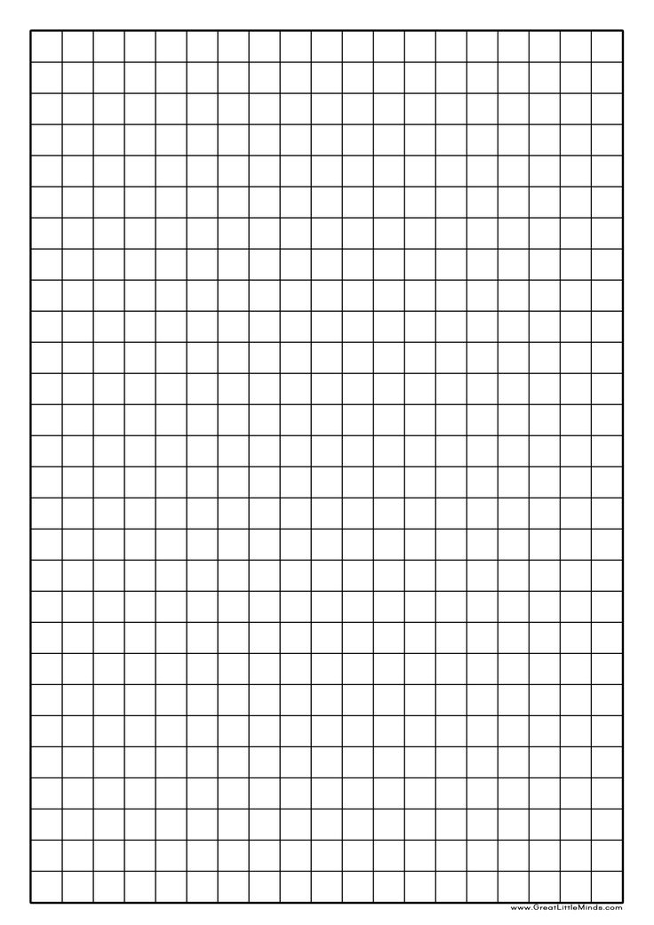Graph Paper Printable | Click On The Image For A PDF Version Which Is Easy  To  Making Graph Paper In Word