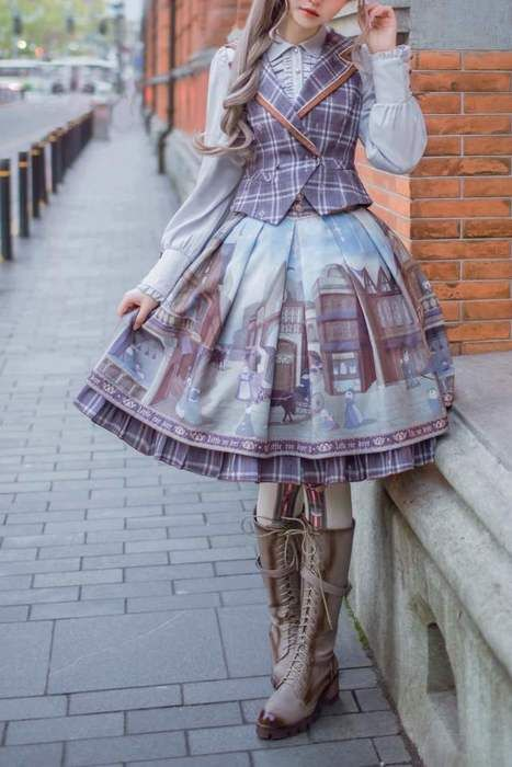 #steampunk #dress #fashion
