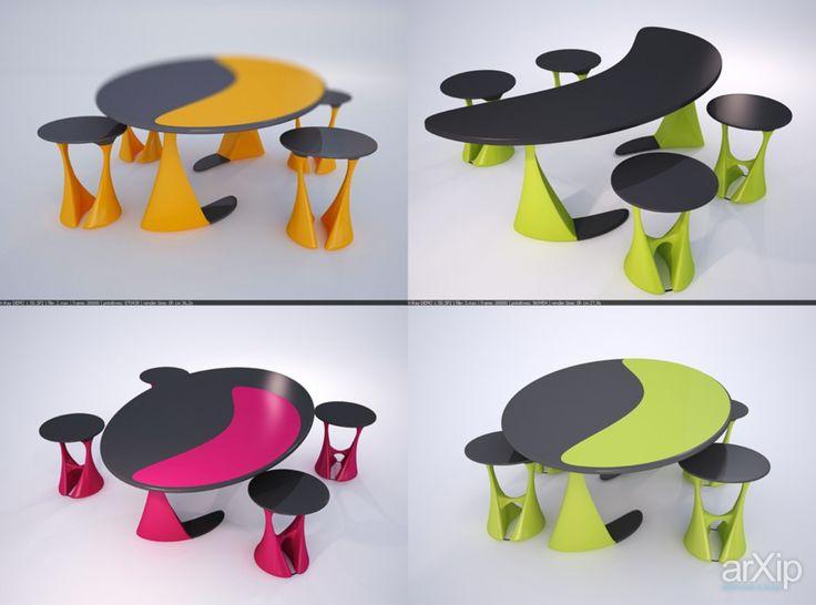 Стол +стул: интерьер, промышленный дизайн, квартира, дом, кухня, минимализм, пол, 10 - 20 м2, стол, модернизм #interiordesign #industrialdesign #apartment #house #kitchen #cuisine #table #cookroom #minimalism #paul #10_20m2 #table #modernism arXip.com