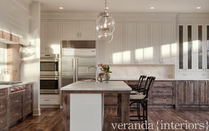 Veranda Interiors I Like The Design Of The Top Cabinets