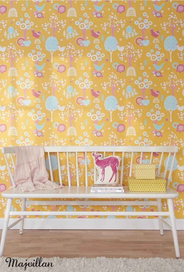 Wallpaper collection by Charlotta Sandberg/ Majvillan