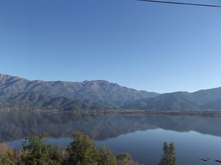 Laguna de Aculeo, al sur de Santiago