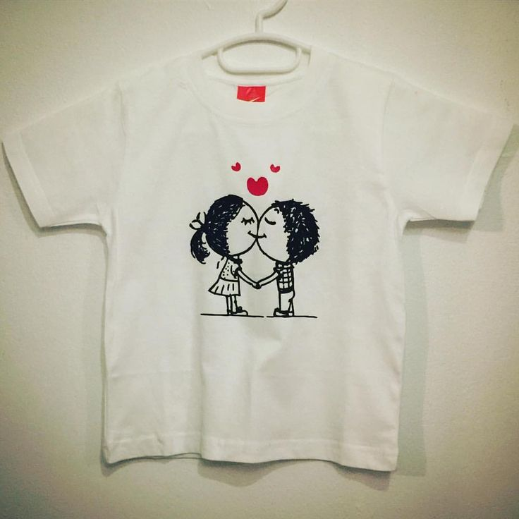 Boy 😘 Girl T-Shirt made by New2World. See this Instagram photo by @new2world • 1 like