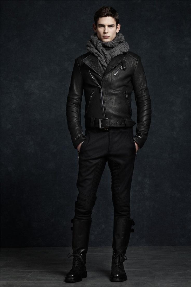 Belstaff F/W 2012 leather biker jacket