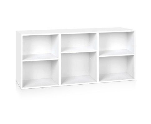 3 Piece Storage Shelf White.  Available at Kids Mega Mart Online Shop Australia