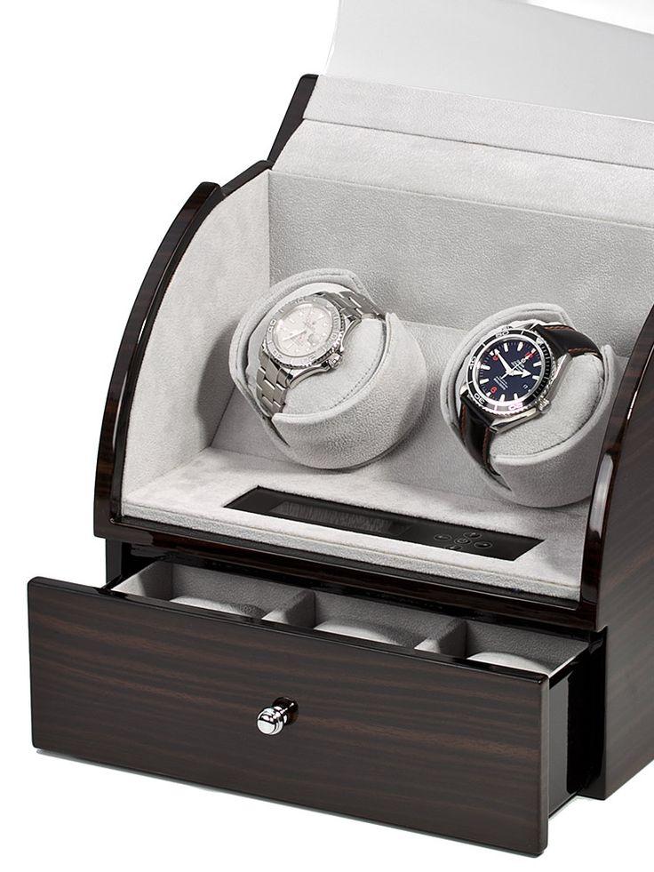 Rothenschild Uhrenbeweger für 2 Uhren RS-322-2-E