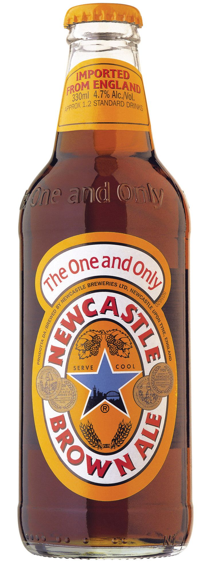 New Castle Brown Ale - the good, old, standby.