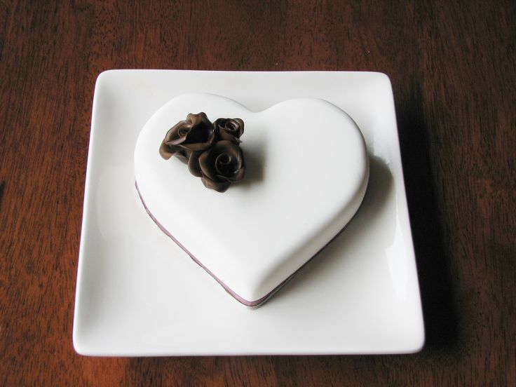 Heart cake: For our 26th Wedding Anniversary.