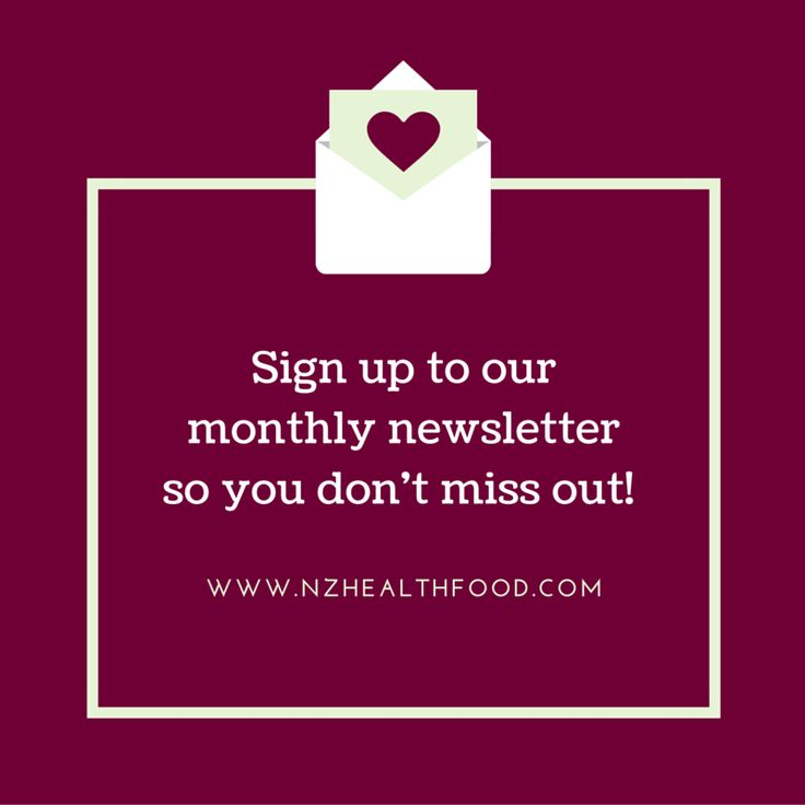 """I didn't know about your sale?!"" Does this sound like you?  Make sure you have registered for our monthly newsletter, so you can hear first about our sales, monthly specials and more!   https://www.nzhealthfood.com/customer/account/login/    #health #healthy #nutrition #skincare #beauty #protein #design #newsletter"