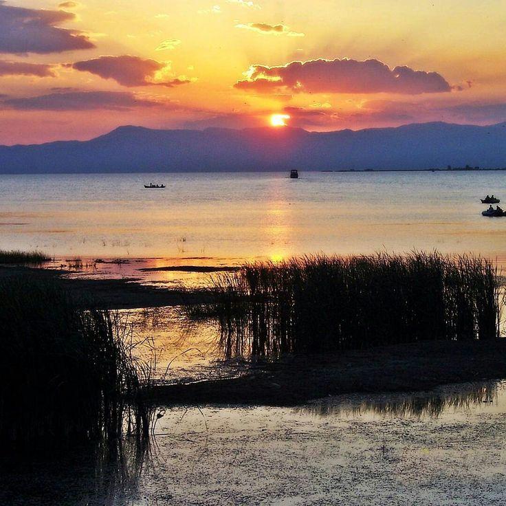 Turkey Konya Beyşehir Lake