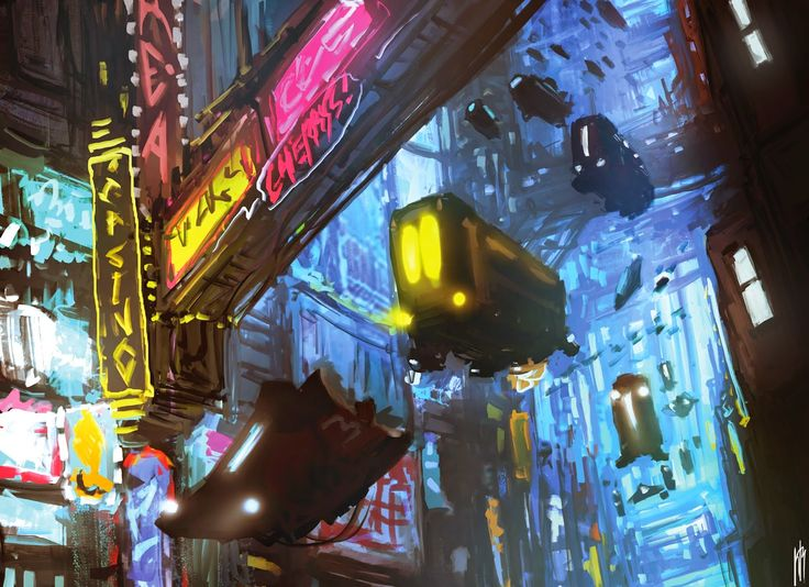 NAME: José Carlos Nevarez Soto WEB: https://www.facebook.com/KarlosConceptArt?fref=ts COUNTRY: México SOCIAL: https://www.facebook.com/KarlosConceptArt?fref=ts TITLE: ''Cyber-ciudad'' TECHNIQUE: Pintura digital YEAR: 2014 DESCRIPTION: Las ciudades se elevaran y se desplazaran grandes pasillos, repletos de comercios y letreros destellantes. Los transportes públicos y propios se elevaran y formaran circuitos de avance en el aire.