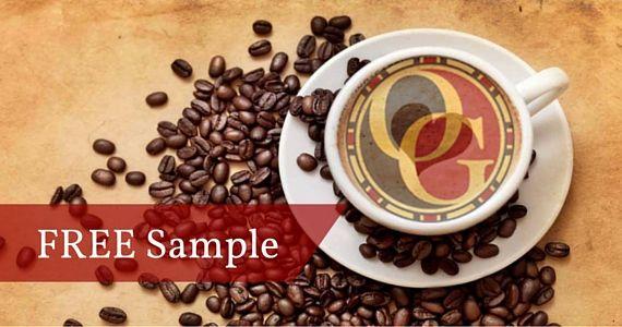 Free Sample of Gourmet Coffee