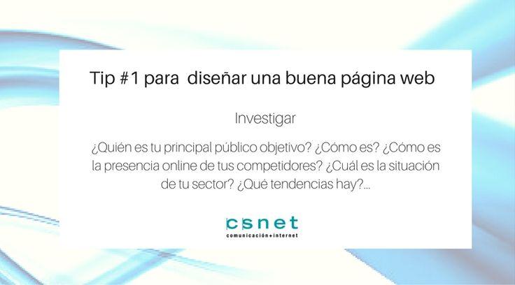 #CSnet #PáginaWeb #Diseño