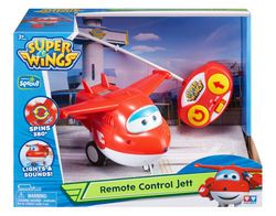 Auldey Super Wings Remote Control Plane - Jett