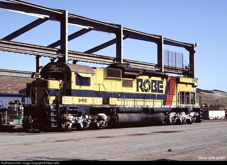 RailPictures.Net Photo: 9416 Robe River Railroad MLW M636 at Cape Lambert WA, Australia by Steve Jeffs