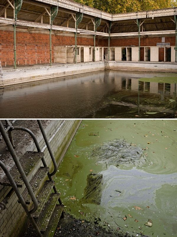 Kngs Meadow Baths, Reading -- Britains 10 Most Beautiful Abandoned Swimming Pools