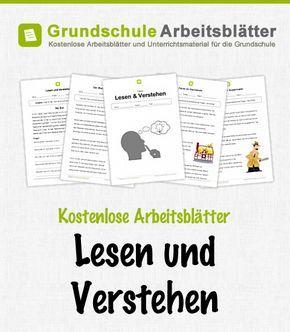 kostenlose arbeitsbl tter und unterrichtsmaterial f r den deutsch unterricht zum thema lesen und. Black Bedroom Furniture Sets. Home Design Ideas