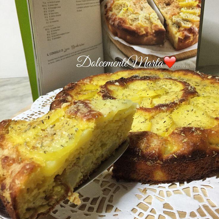 """Torta salata di patate e spek (ricetta tratta dal libro """"Le mie torte salate"""" di Luca Montersino)"""
