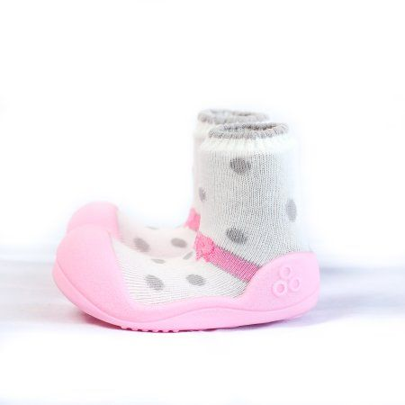 Attipas Baby Footwear; Attipas Girl's, 1-pair, Size: 4.5, Pink