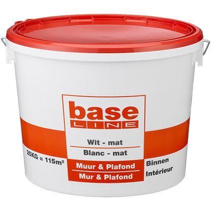 Baseline latex Muur & Plafond wit 16,5L | Praxis