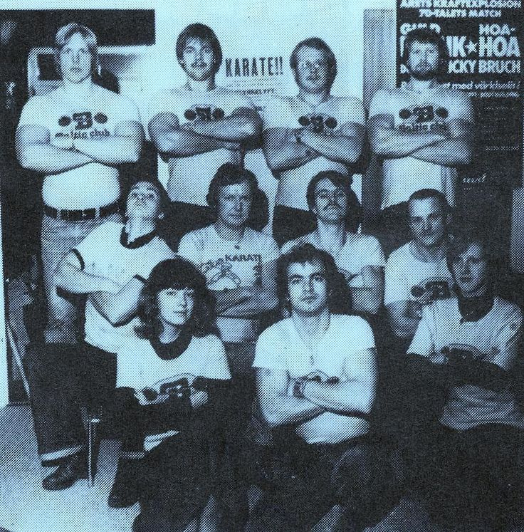 1978 Baltic Club Malmö.Styrelsen då
