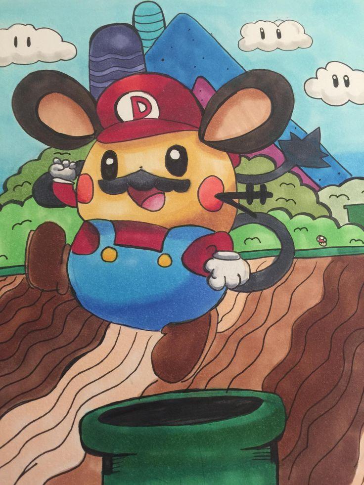 Dedenne in Super Mario Bros.