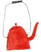 red teapot.