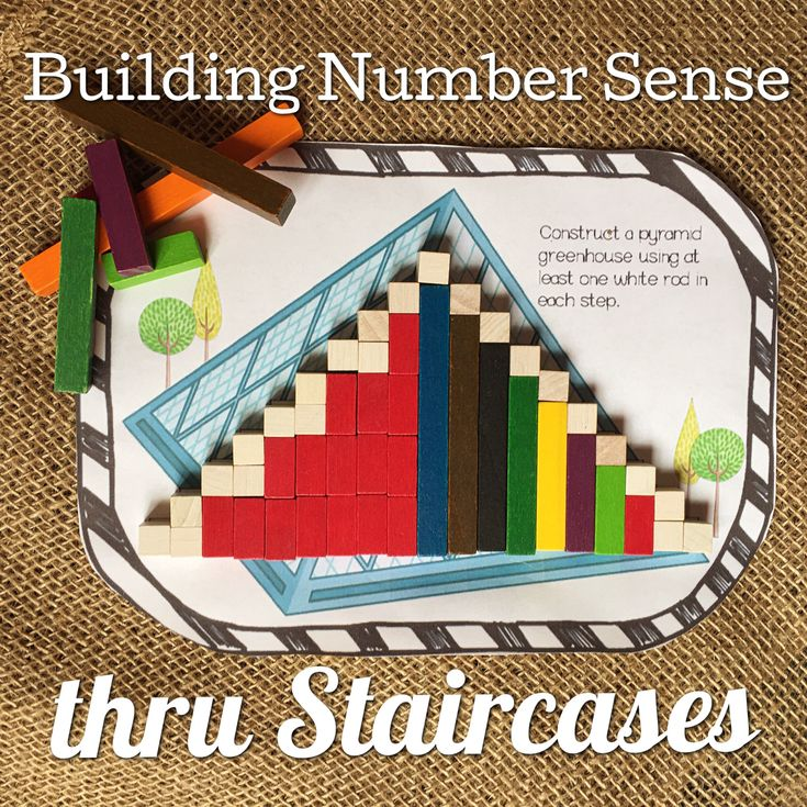 Knowing how to build number sense is vital for developing deep mathematical awareness.  Cuisenaire Rods are the most vital tools to building number sense, and today we are going to look at Staircase activities that provide one way to build number sense