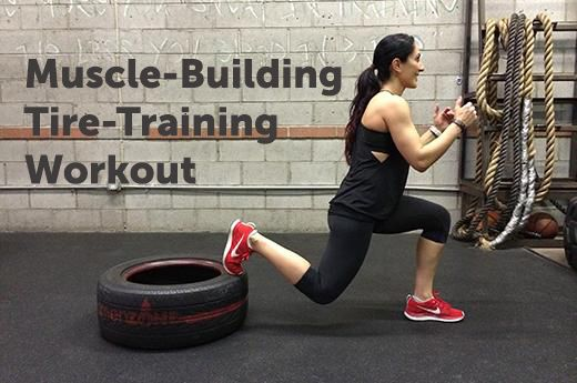 14 Muscle-Building Tire-Training Moves