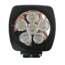 """""""Mirror"""" Work, Spot, Flood Light LED 60W  Operating Voltage: 10-30V DC  Waterproof rating: IP 67  6*10w high intensity Cree LEDs  Luminous Flux 5800lm  Color Temperature: 6000K  Material: Die cast aluminum housing  Lens material: PMMA  Mounting Bracket: Stainless Steel  Optional Beam: 60 or 30 degree  Expected Life 30000+ hours  Certificates: CE RoHs"""
