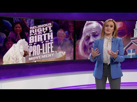 "Samantha Bee Obliterates the Right for Exploiting Abortion Rights for Political Gain  One of those who helped evangelicals spread anti-abortion propaganda: ""It is the single greatest regret of my life."""