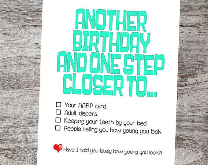 20 best Birthday CardS Funny images – Sarcastic Birthday Greetings