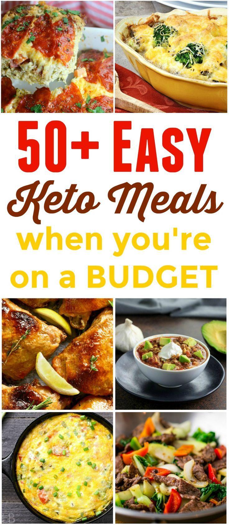 50+ einfache Keto & Low Carb Mahlzeiten mit kleine…