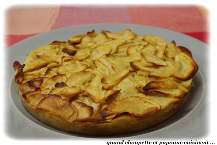 Gâteau invisible pommes-cannelle