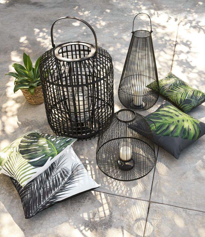 arredamento da giardino economico Maisons du Monde: cuscini per l'esterno, …