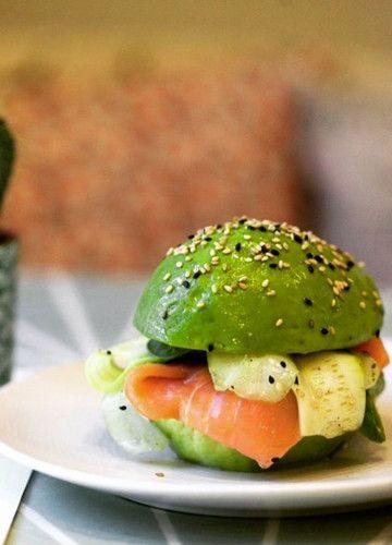 So lecker: Dieses Sandwich ist komplett aus Avocado!