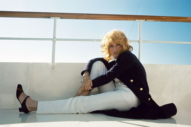Monica Vitti at Cannes Film Festival.  Photographed by Jack Garofalo,1968