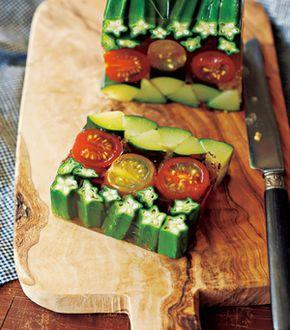 母の日はお母さんにおしゃれなご飯を作ってあげましょう!夏野菜の和風テリーヌ