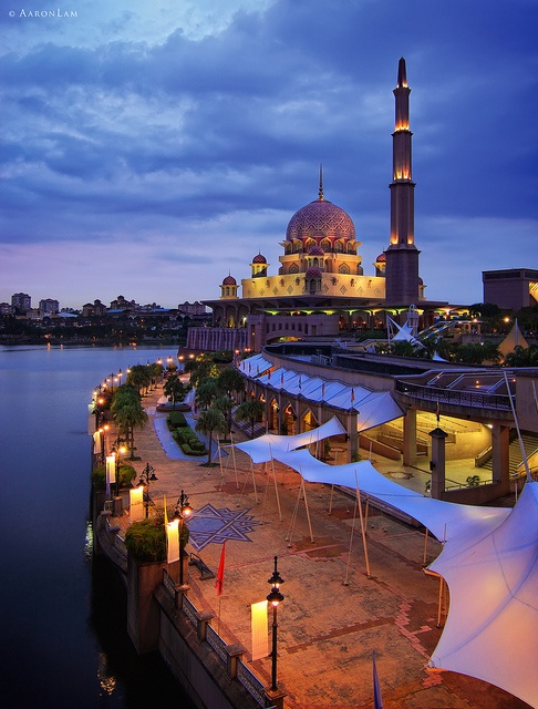 Putra mosque ,Indonesia