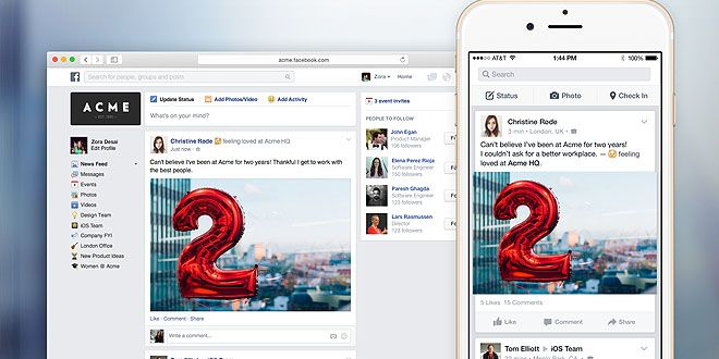 Facebook At Work está lista para dispositivos iOS y Android - http://www.entuespacio.com/facebook-at-work-esta-lista-para-dispositivos-ios-y-android/