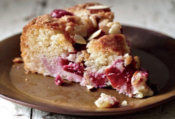 Plum Almond Cake | Torta di Prugne e Mandorle from Leite's Culinaria
