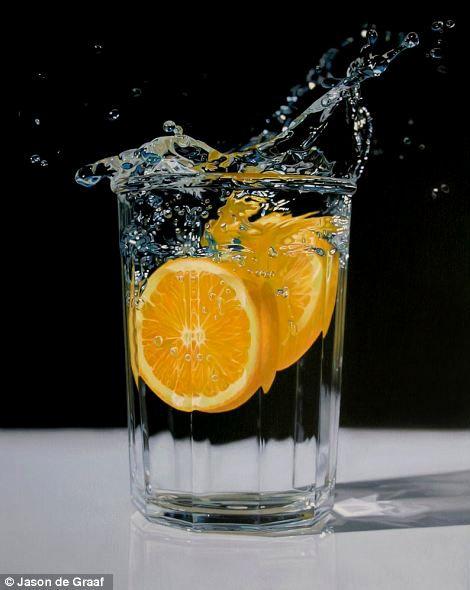 Hyper Realistic Acrylic painting by Jason de graaf from webneel